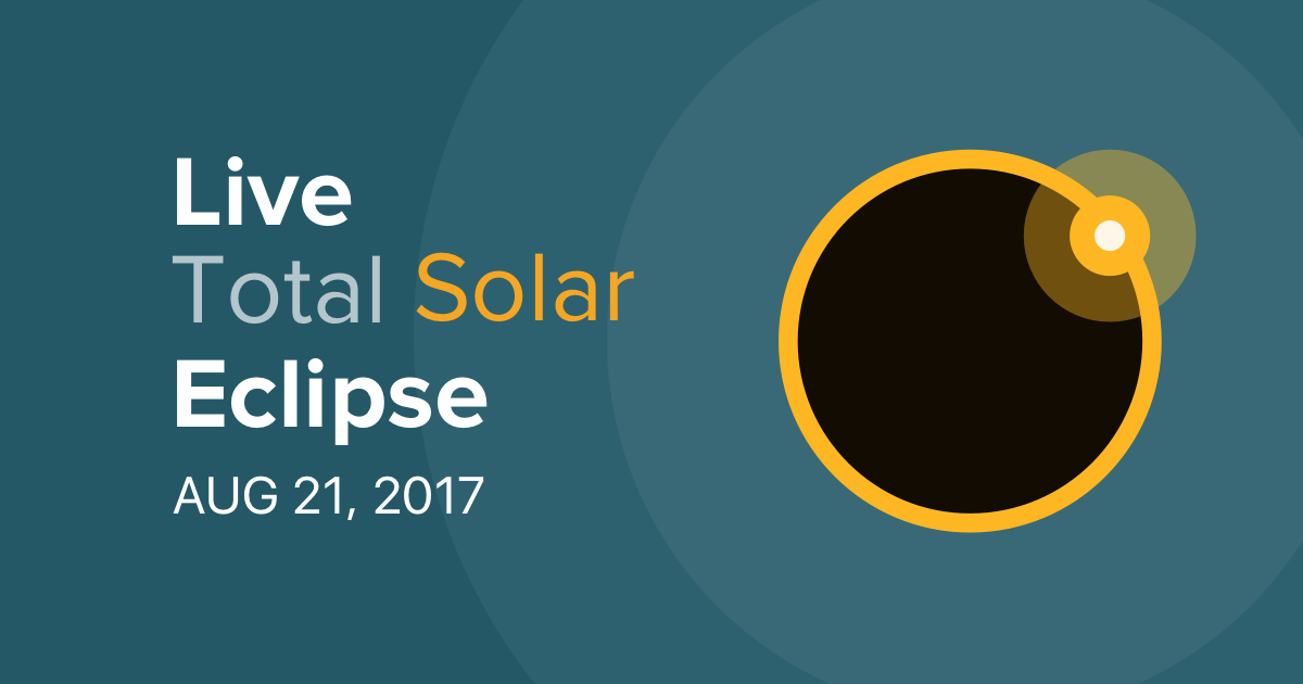 Live Stream Total Solar Eclipse August 21 2017