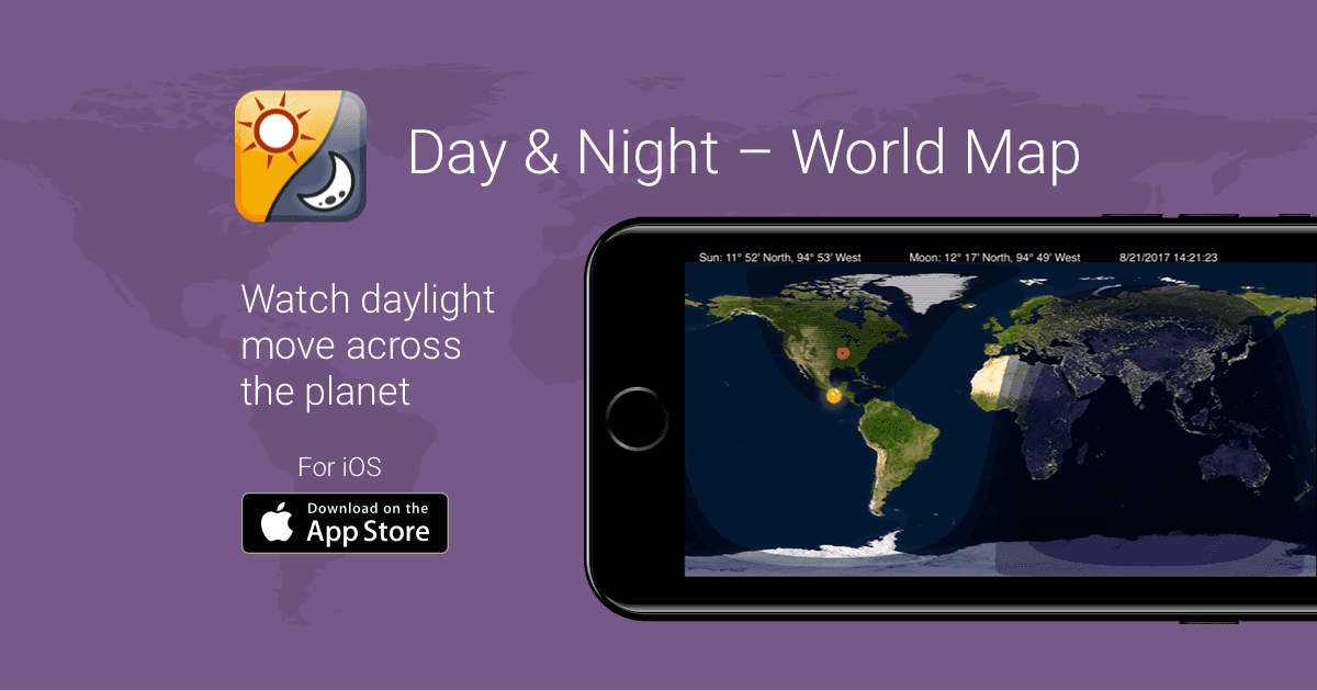 Day night world map app for iphone ipad gumiabroncs