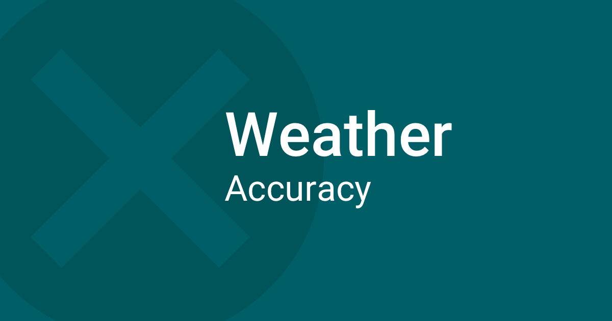 Accuracy Of Weather Forecasts In Time - Us weather map 10 day