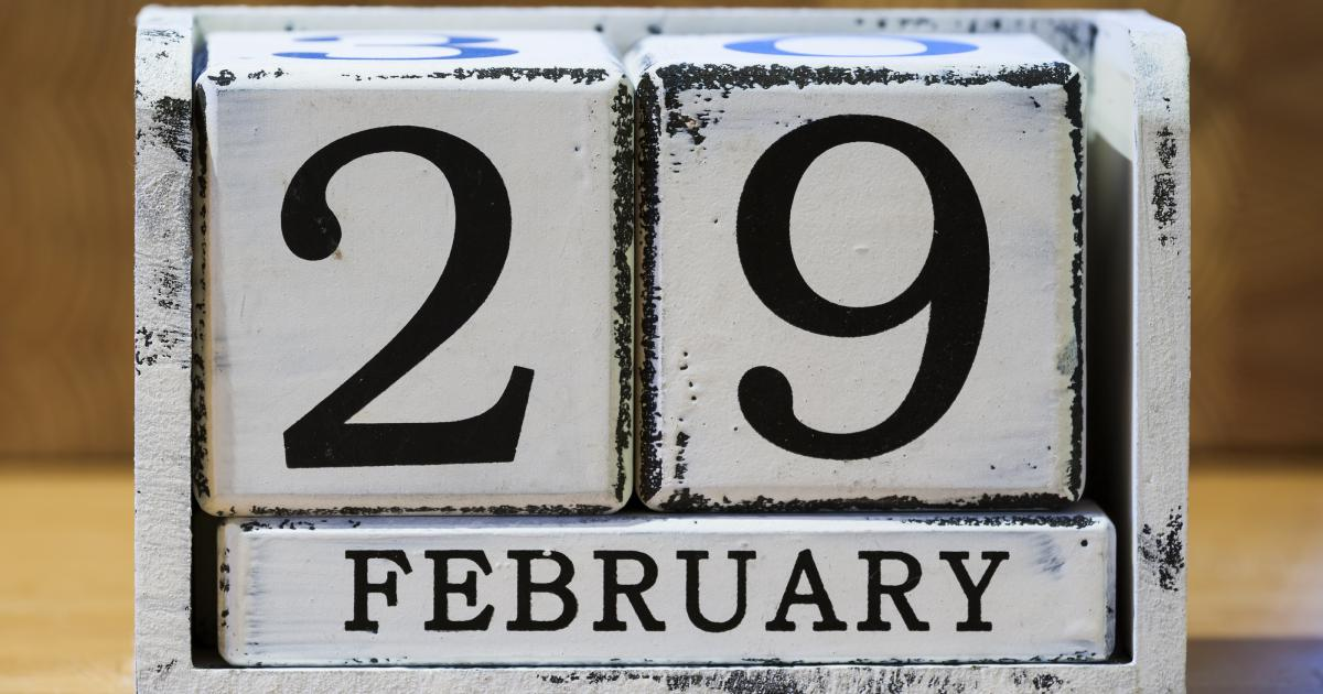 photo about Leap Year Printable known as Jump Yr Approximately Each individual 4 several years