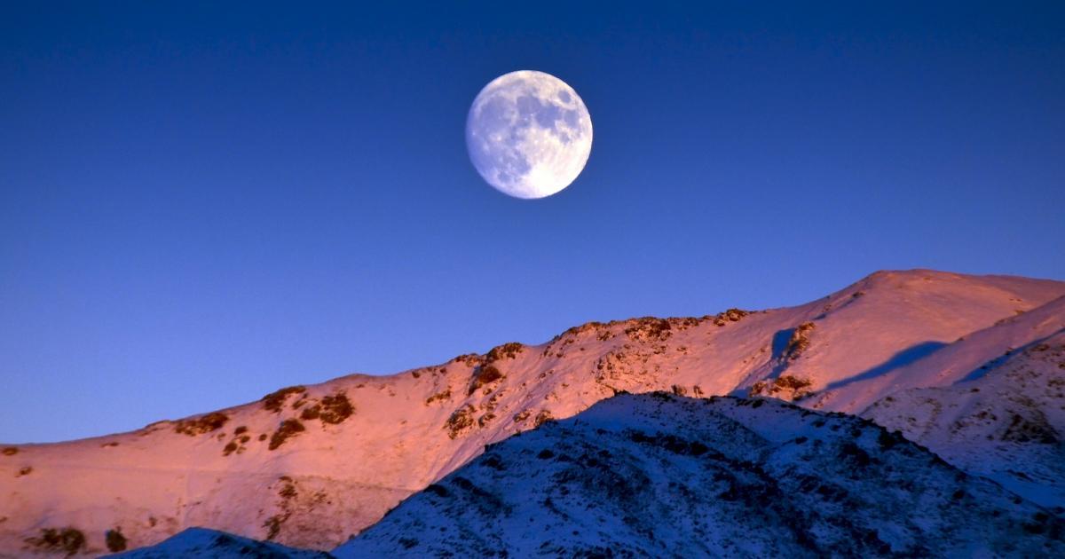 February 2020 Eastern Standard Time Moon Calendar Snow Moon Is the Full Moon in February