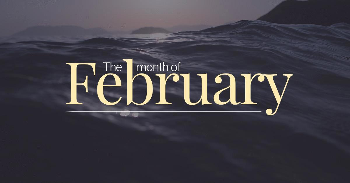 february  u2013 second month of the year