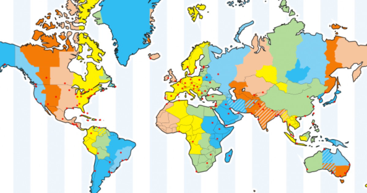 US Time Zone Map Timezonesmapcom Best Time Zone Map Ideas On - Us timezone map with times