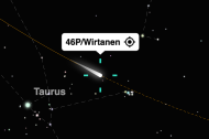 Watch Comet 46P/Wirtanen!