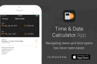iOS App: Time & Date Calculator