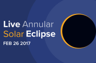 LIVE Stream: Annular Solar Eclipse