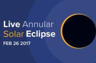 LIVE Stream: Annular Solar Eclipse