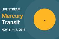 LIVE Stream: Mercury Transit