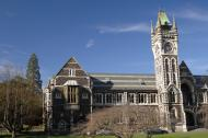 Otago University Clock-tower, New Zealand