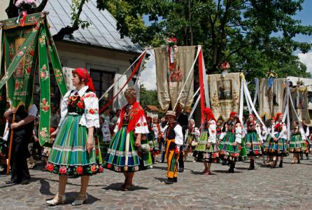 Corpus Christi In Poland