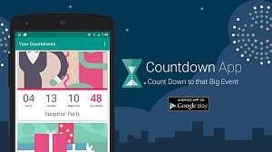 Android Countdown App Promotion