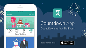 iOS Countdown App Promotion
