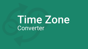 Time Zone Converter promotion