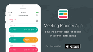 Meeting Planner iOS App Promotion