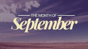 Month of September