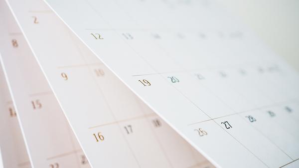 Light The World 2022 Calendar.Common Year Standard Year Normal Year