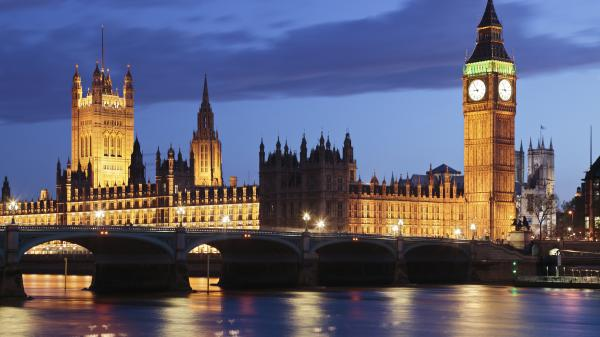 The Houses of Parliament and Big Ben, London