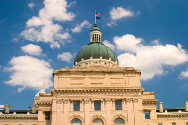 State of Indiana Capital Building