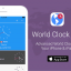 World Clock iOS App Promo
