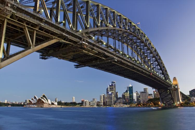 Harbour Bridge in Sydney, Australia