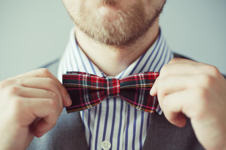7d70647ea25d Celebrate this sartorial holiday by donning your snazziest bow tie all day  long.
