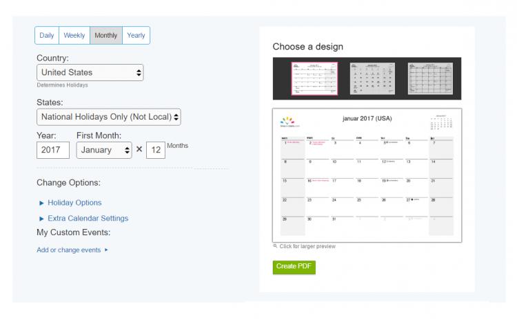 faq printable calendar pdf