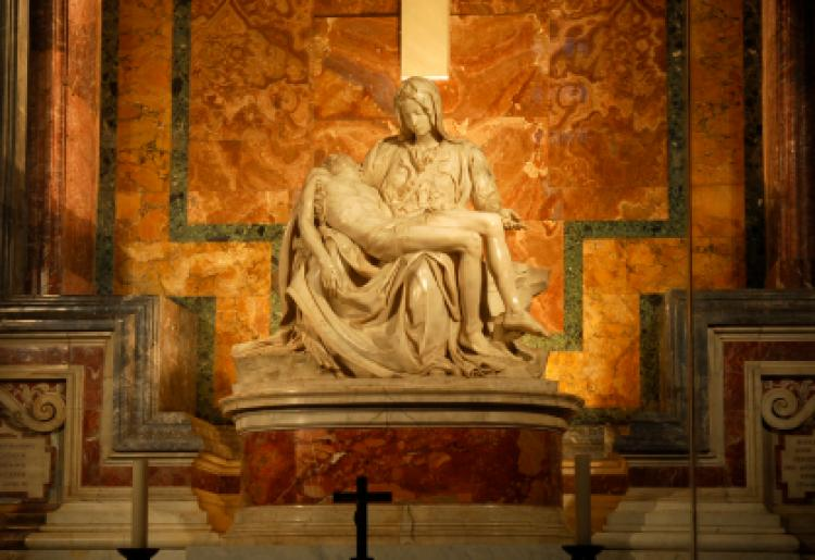 La Pietà by Michelangelo
