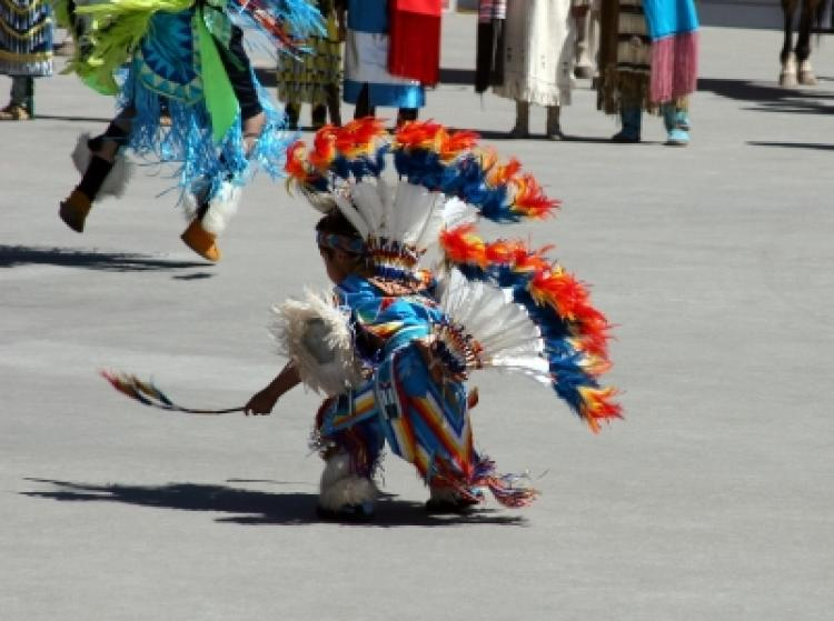 Native Indian Dancing