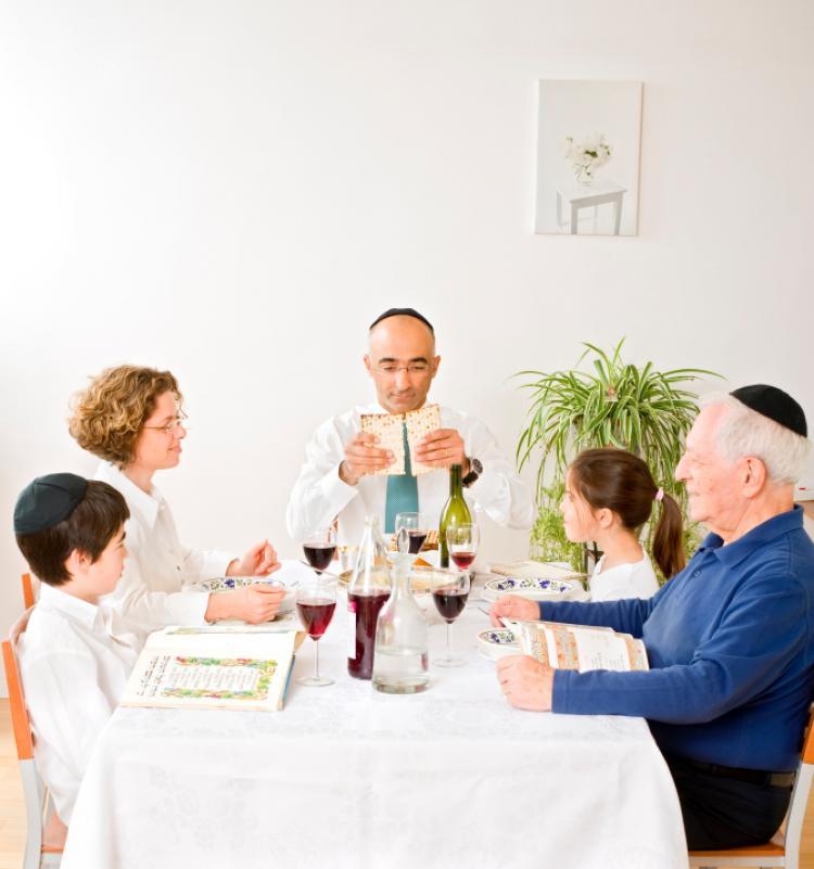 A Jewish gathering