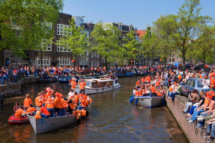 Image result for Queensday, Amsterdam, Holland