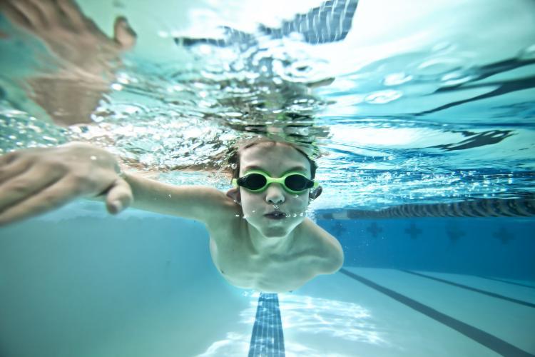 Fun Holiday Swim A Lap Day