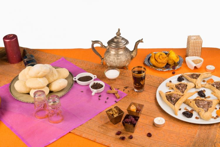 Typical Ramadan foods