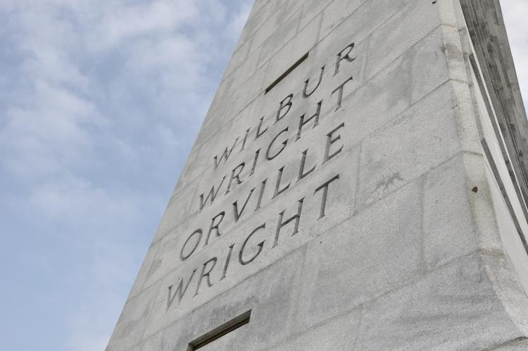 Wright Brothers National Memorial in Kill Devil Hills, North Carolina.