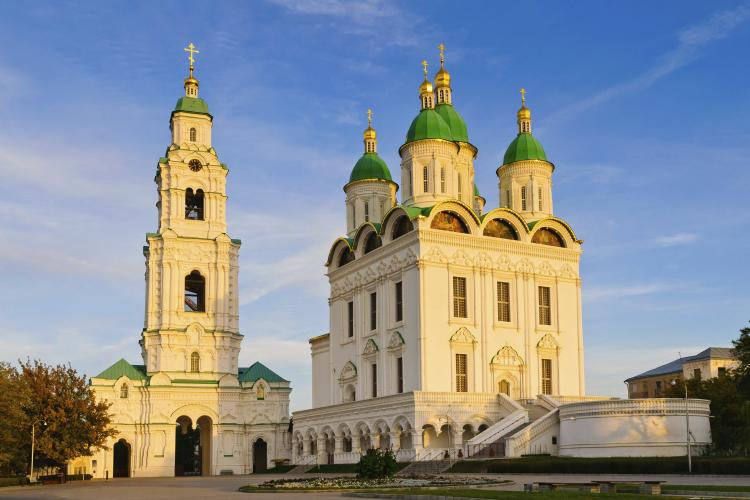 Astrakhan Kremlin is a fortress in the city Astrakhan in southern Russia.