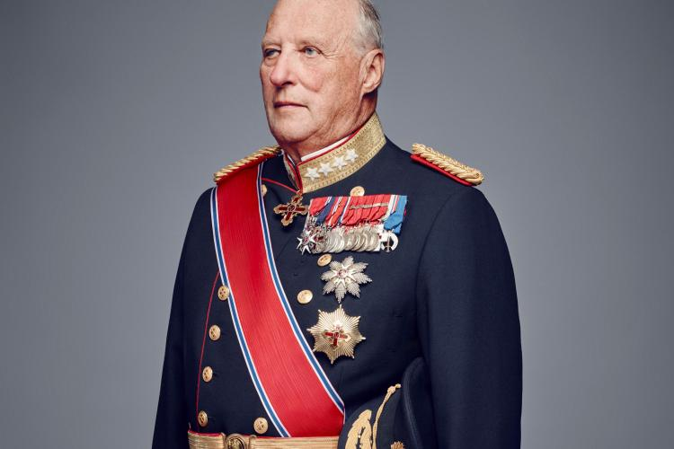 H.M. King Harald V of Norway.