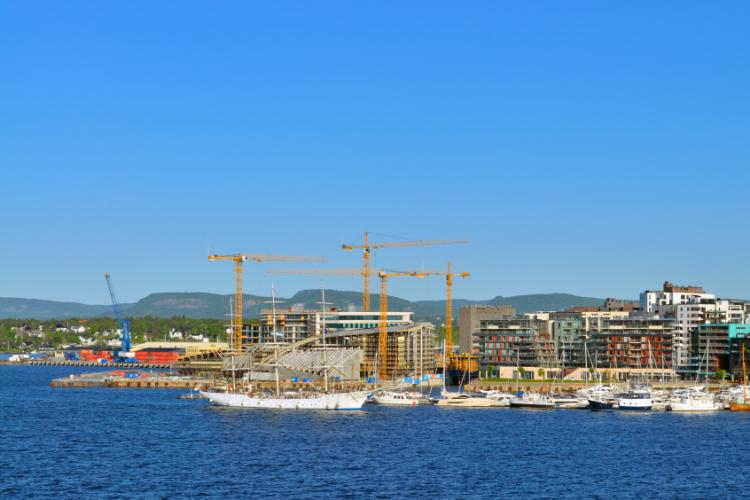 Oslo in the summer time