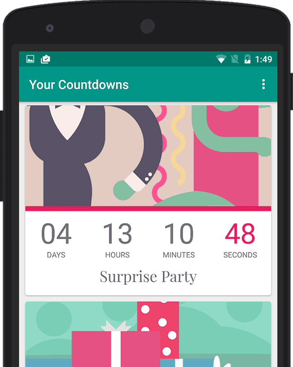 Android Countdown App