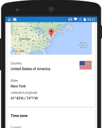 World clock app for android screenshot of world clock apps city information location map lat long state gumiabroncs
