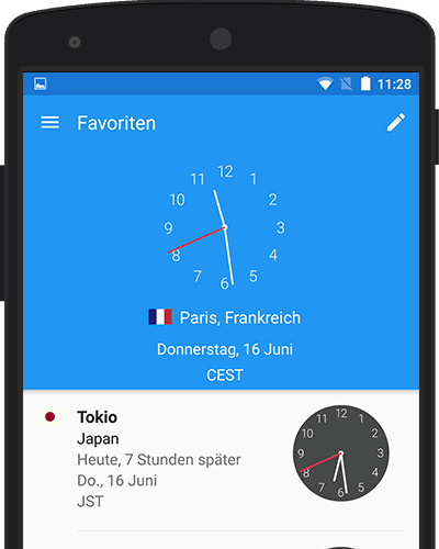 World Clock App Screenshot