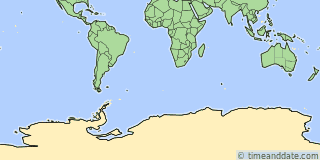 Location of San Martín Base