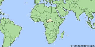 Current Local Time in Bambari Central African Republic