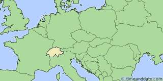 Location of Montreux