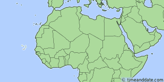 Location of Praia