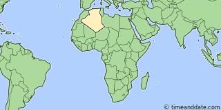 Current Local Time in Constantine Algeria