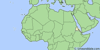 Location of Asmara