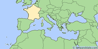 Location of Troyes
