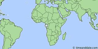 Current Local Time in Lambarn Gabon