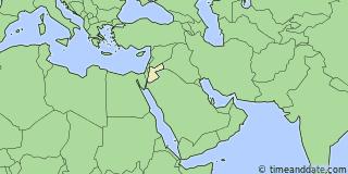 Daylight Saving Time Changes 2018 in Irbid Jordan