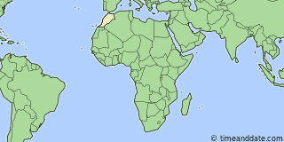 Location of Casablanca