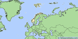 Location of North Cape